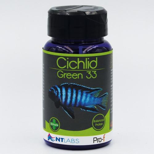 100g cichlid green 33 pellet