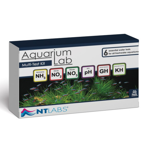 aquarium lab multi-test kit
