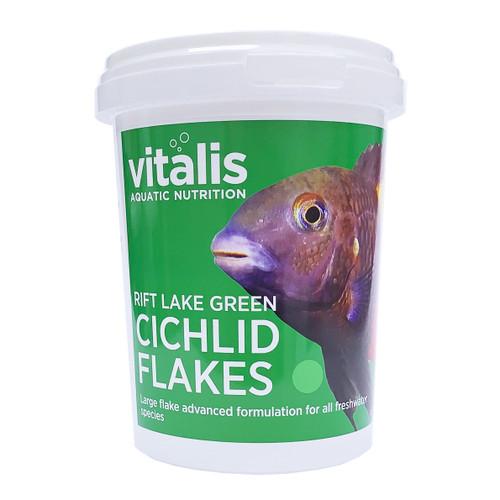 Vitalis Rift Lake Green Cichlid Flakes