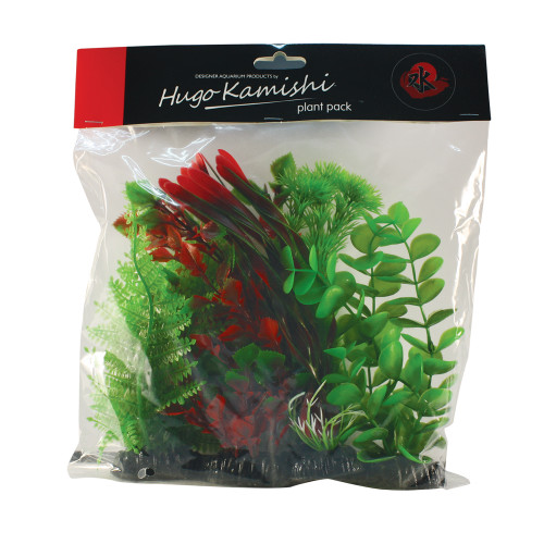 hugo kamishi red and green plant mix 20cm