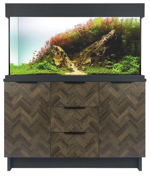 OakStyle 230 Cabinet Anthracite Parquet