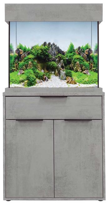 OakStyle 110 Cabinet Concrete Edition