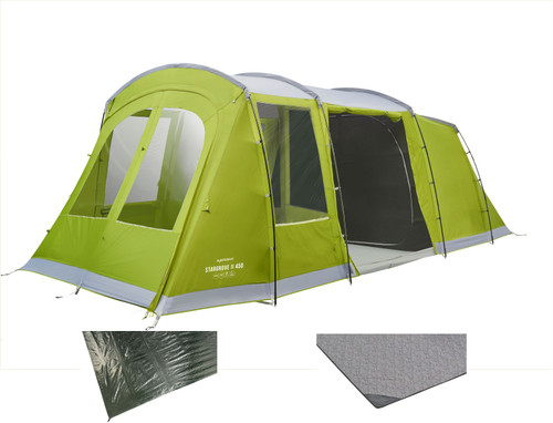 Stargrove II 450 tent with carpet & groundsheet