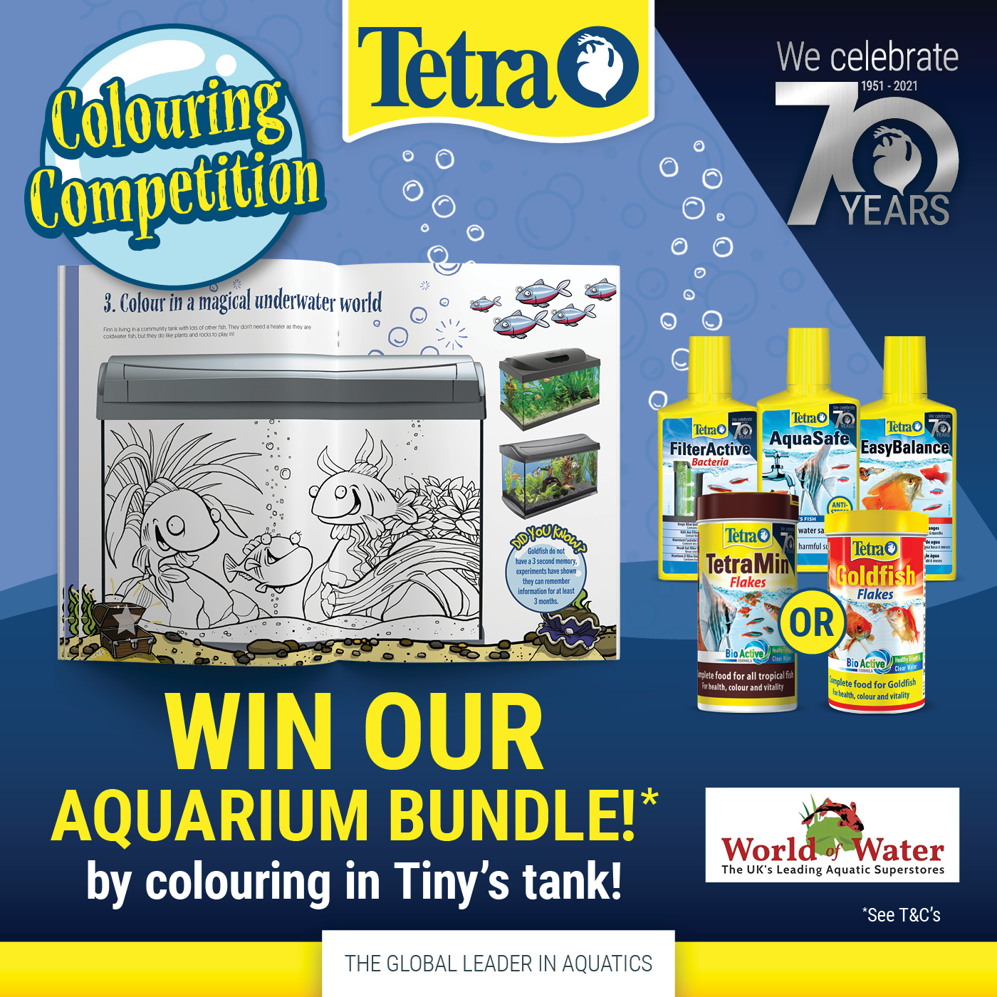 Tetra's Colouring Competition