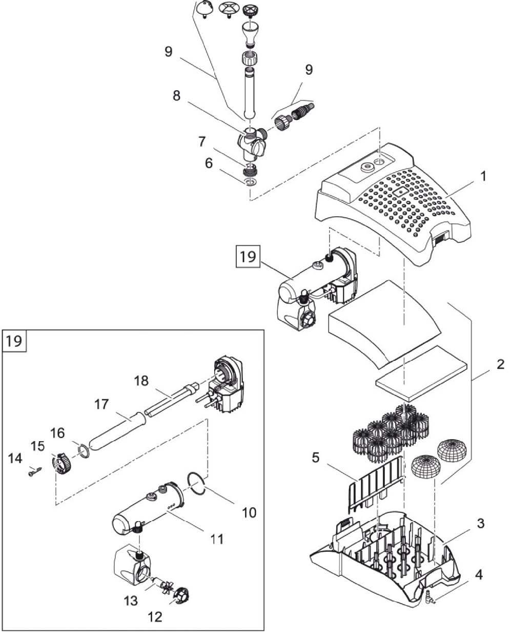 filtral-uvc-5000-spares