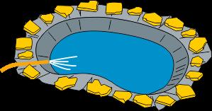 Step 4: Installing a pond liner