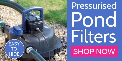 Pressurised Pond Filters