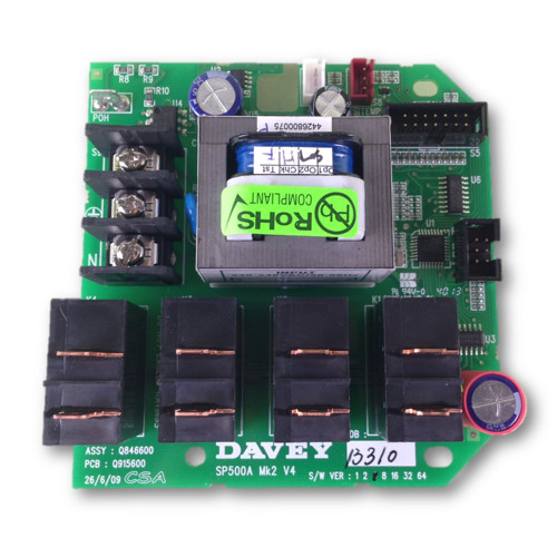 Davey Spa Quip®  SP500 Circuit Board
