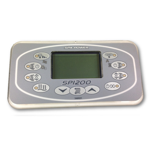 Davey Spa Quip® SP1200 Rectangular Touch Pad and Overlay