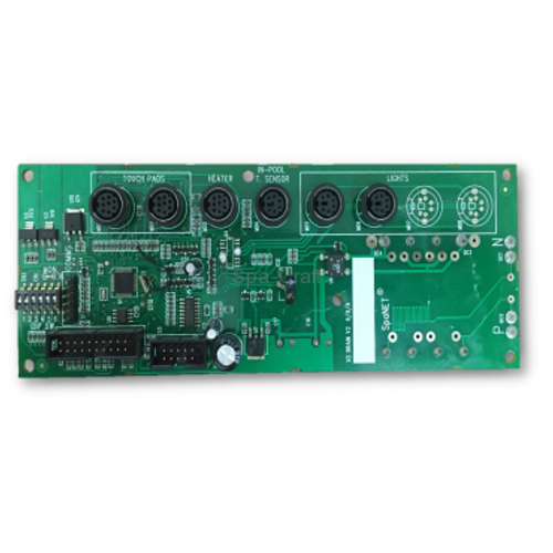 SpaNet® Power Assembly XS-3000 Controller Brain PCBA /12V Mini din