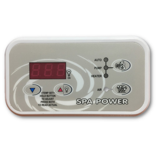 Davey Spa Quip® SP600/SP601 Touchpad and Overlay