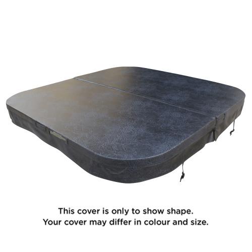1900 x 1900 R250mm Generic Spa Pool Hard Cover (Charcoal)
