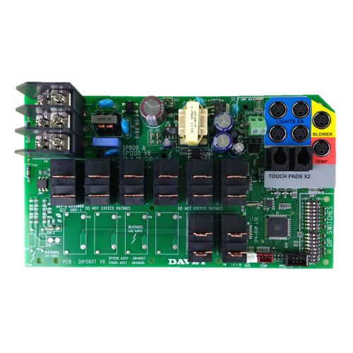 Davey Spa Quip® SP800 Circuit Board