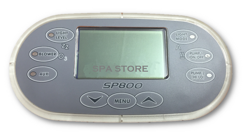 Davey Spa Quip® SP800 Oval Racetrack Touch Pad and Overlay