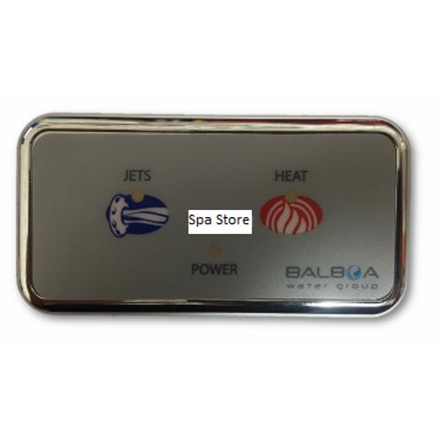 Balboa / Onga Bathmaster V2 Pump Rectangular Touchpad Assy