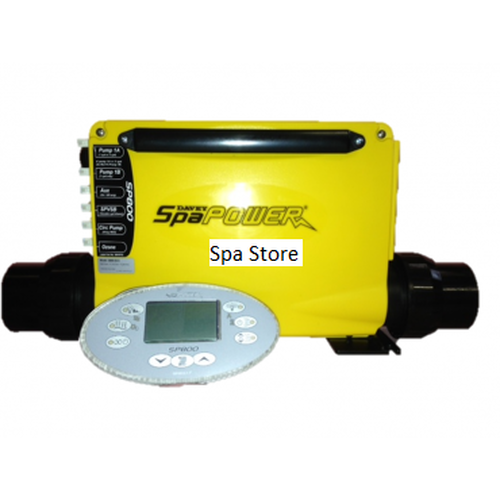 Davey Spa Quip® SP800 3.0kw Complete W/ Rectangle Touchpad