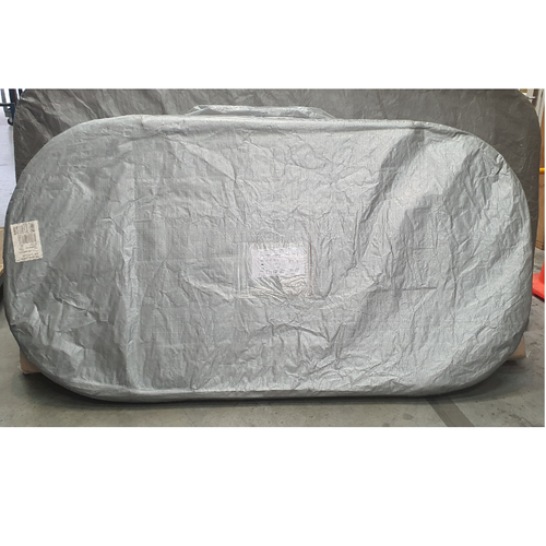 2095 x 1105 Suitable Spa Cover Gemini Slate  R450 (Charcoal)