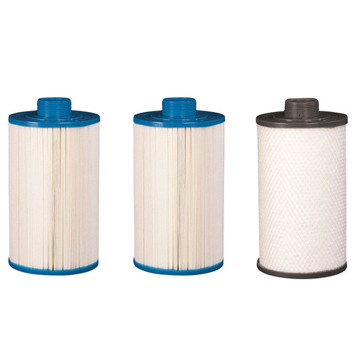 203 x 125mm 3 Spa Filter Kit For Vortex and O2 Spas