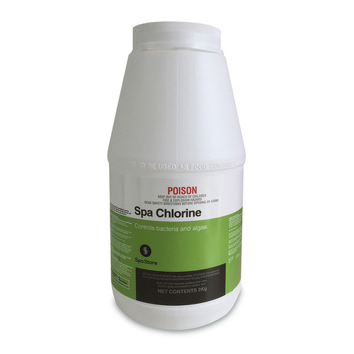 Spa Store Spa Chlorine 2kg - Replaces Lithium