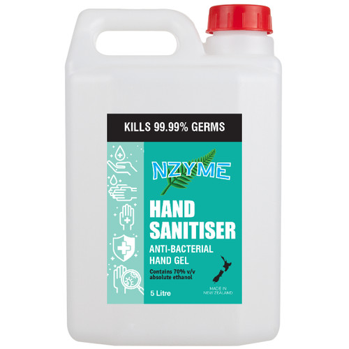 Hand Sanitiser with 70% Alcohol - 5 litres