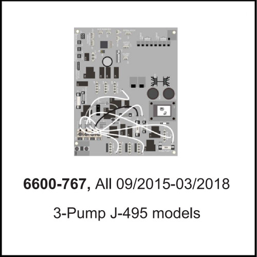 Jacuzzi®J-400™ Export 50Hz Circuit Boards 3-P/ 09/2015-03/2018