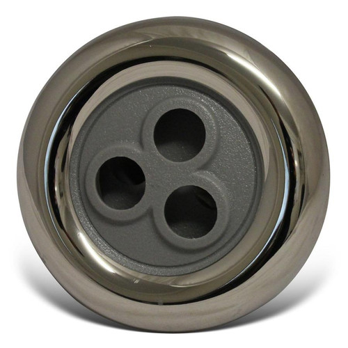 """Escape/Lifestyle Spas 89mm (3.5"""") Massage Jet Grey And Stainless Steel"""