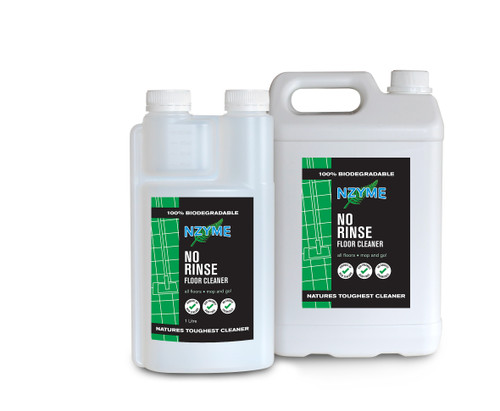 NZYME No-Rinse Floor Cleaner 1 Litre Concentrate