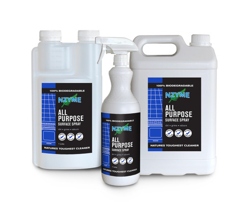 NZYME All Purpose Surface Spray 5 Litre Concentrate
