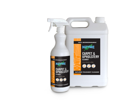 NZYME Carpet And Upholstery Cleaner 5 Litre Concentrate