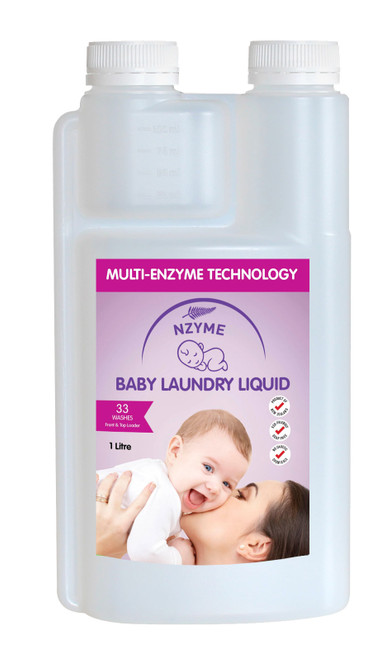 NZYME Baby Laundry Liquid 1 Litre Ready To Use