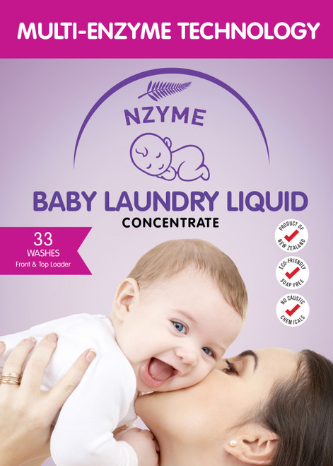NZYME Baby Laundry Wash 5 Litre Concentrate