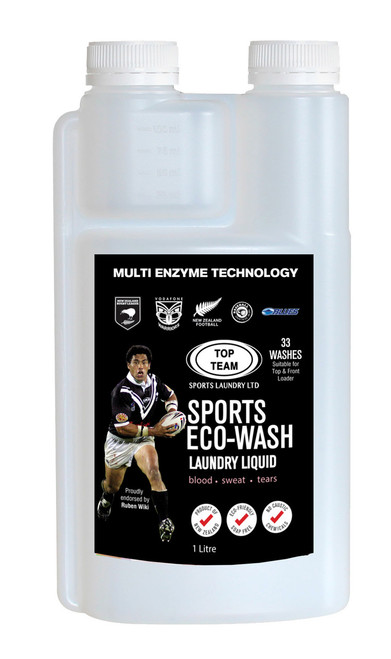 NZYME Sports Eco Wash 1 Litre Ready to Use