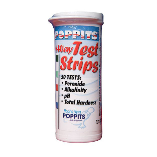 Poppits 4 Way Test Strips
