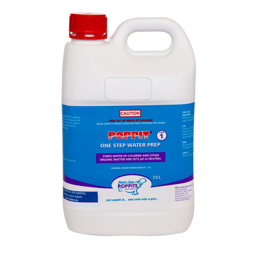 Poppits 1 Litre Sanosil 1 Step Water Prep Balancer