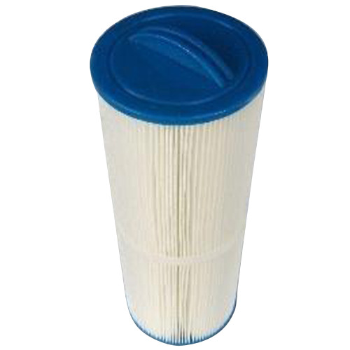 340 x 128mm All single cartridge O2 Spas - 800 series replacement pleated filter cartridge