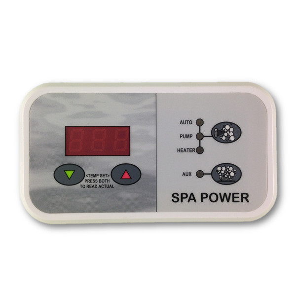 Davey Spa Quip®  SP500 Touchpad and Overlay