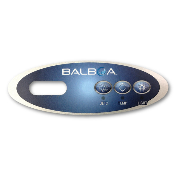 Balboa VL200 3 Button Overlay Replacement