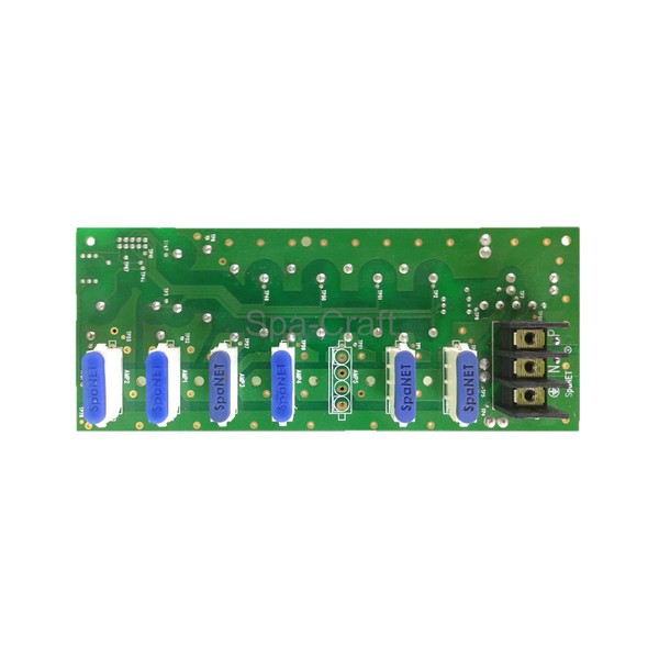 SpaNet® Power Assembly XS-2000 Controller PCBA (240V AMP side)