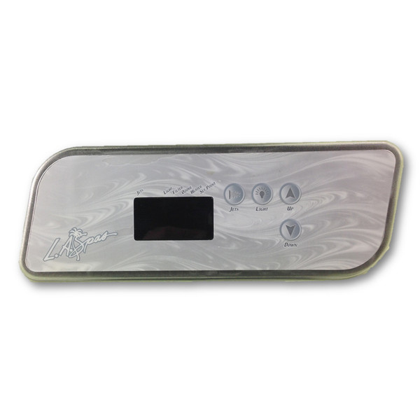 LA Spas TSC/K-44 Touchpad and 4 Button Overlay (No Blower)