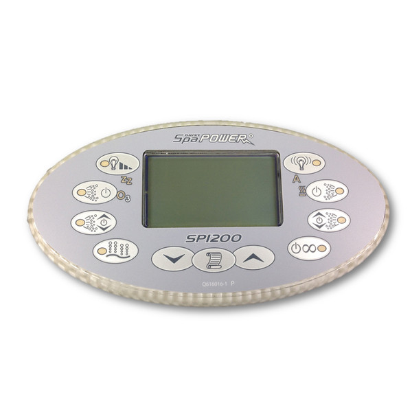 Davey Spa Quip® SP1200 Oval Touchpad and Overlay