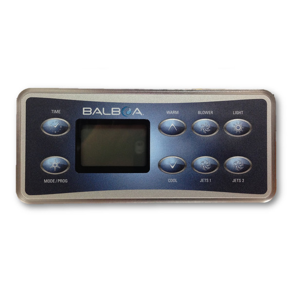 Balboa VL801 D Series Deluxe 8 Button Touch Pad