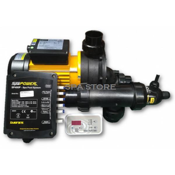 Davey Spa Quip®  SP400 1.5Hp / 1-Sp Pump Kit 1