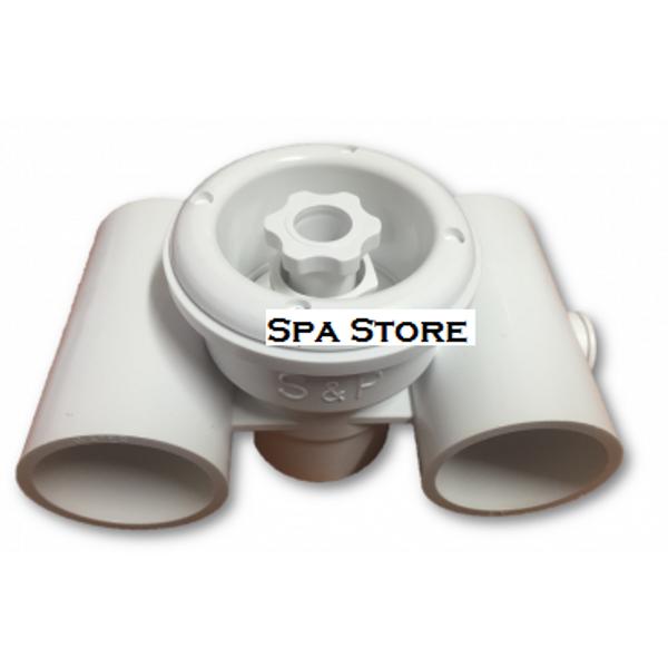 S & P Turbo Jet White