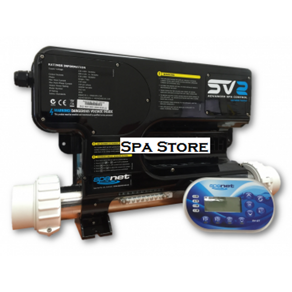 SpaNet® SV2 Variable Heat Controller Complete With Touchpad