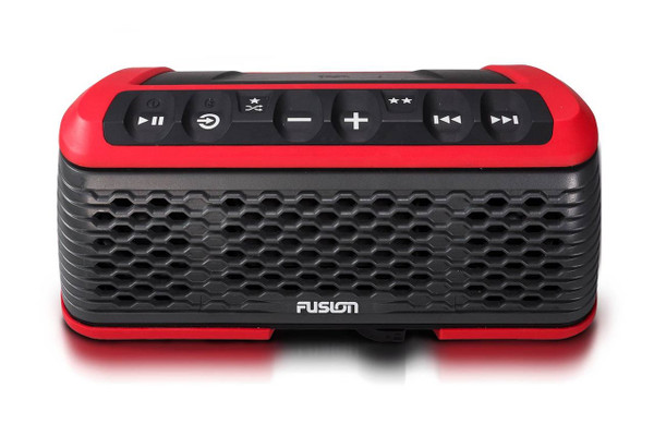 Stereo Active, Integrated Portable Stereo System - Red