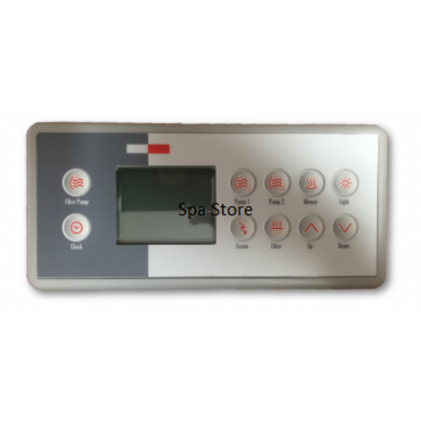 Gecko TSC-4 / K-4 Touch Pad With 10 Button Overlay