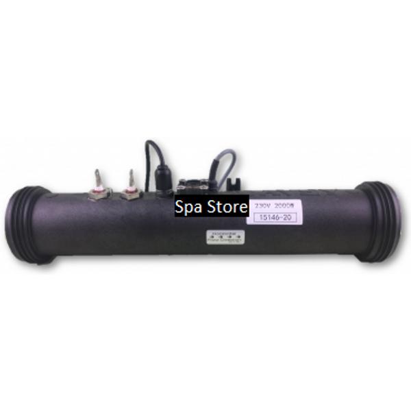 Davey® Spa Quip® SP601/800 Titanium 3.0kw Heater Element/Tube Assy