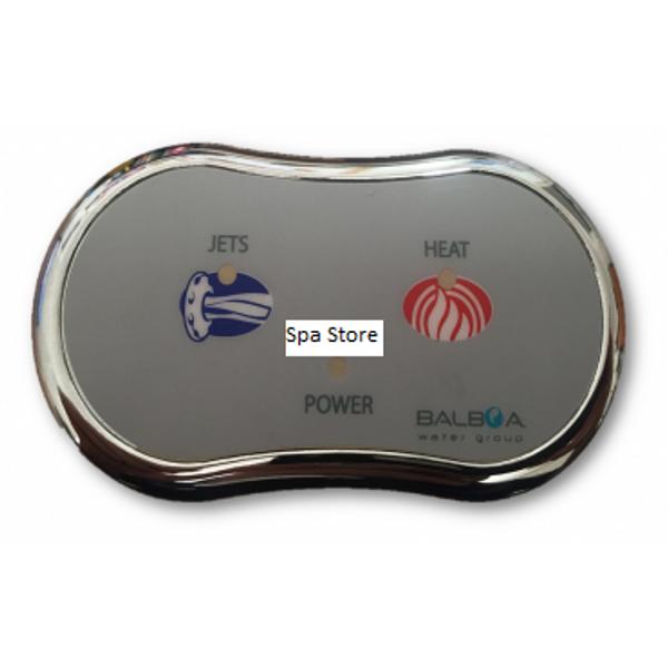 Balboa / Onga Bathmaster V2 Pump Peanut Touchpad Assy