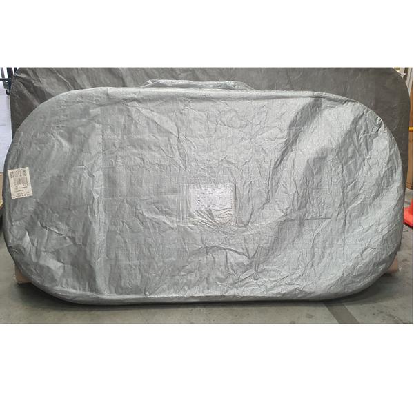 2095 x 1105 Suitable Spa Cover Gemini Slate  R450 (Charcoal)