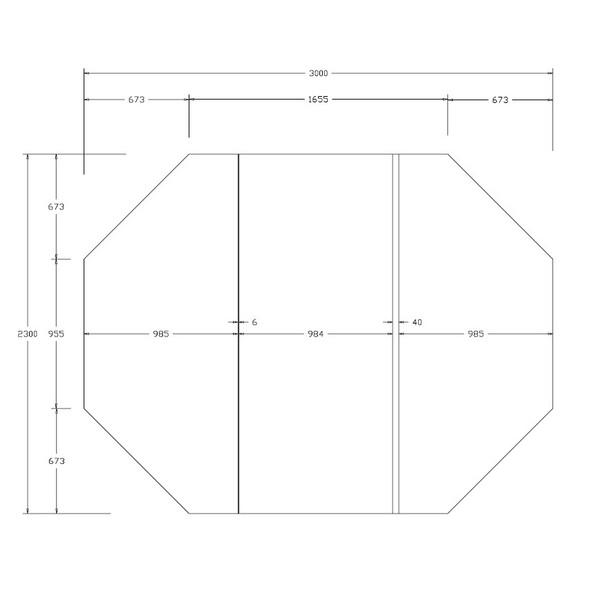 Spa Cover for Vortex Spas Retreat Slate 3010 x 2310mm